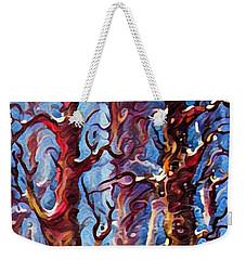 Surreal Forest Weekender Tote Bag by Megan Walsh