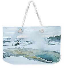 Weekender Tote Bag featuring the photograph Surreal Landscape by Gary Lengyel
