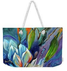 Surreal Magnolias Weekender Tote Bag