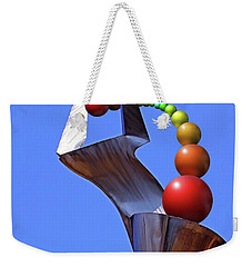 Weekender Tote Bag featuring the photograph Surreal Rainbow by Christopher McKenzie
