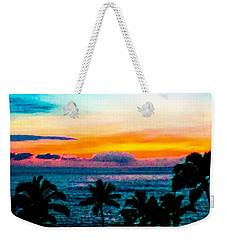 Surreal Sunset Weekender Tote Bag