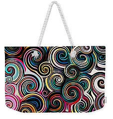 Surreal Swirl  Weekender Tote Bag