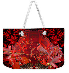 Surrealism Of Nature Autumn Colors Weekender Tote Bag by Suzanne Powers