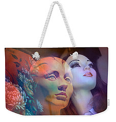surrealist figure fine art - Do You See What I See Weekender Tote Bag