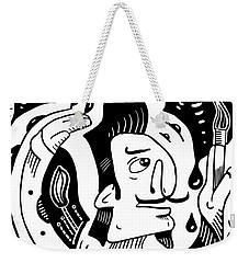 Surrealist Painter Weekender Tote Bag