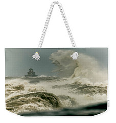 Weekender Tote Bag featuring the photograph Surrender by Everet Regal