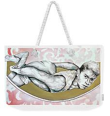 Surrender Or Sacrifice  Weekender Tote Bag