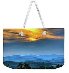 Surrender The Day Weekender Tote Bag by Dale R Carlson