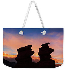 Surrender To The Infinite, Unbounded, Pure Consciousness  Weekender Tote Bag