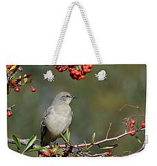 Surrounded By Berries 2 Weekender Tote Bag by Fraida Gutovich