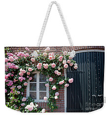 Surrounded By Roses Weekender Tote Bag by Aiolos Greek Collections