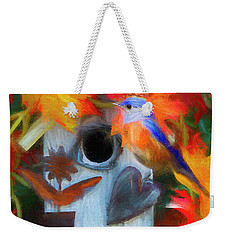 Surrounded In Fall Color Weekender Tote Bag