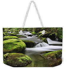 Surrounded In Green Weekender Tote Bag