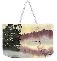 Surveyor Of The Morning Weekender Tote Bag