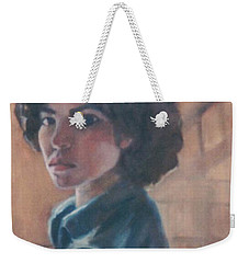 Susan Berger - Suzn Smith - Self Portrait Weekender Tote Bag