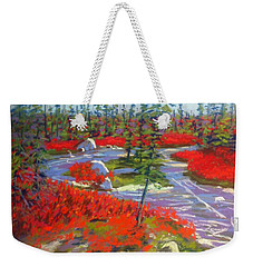 Susie Lake Barrens Weekender Tote Bag