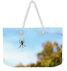 Suspended Spider Weekender Tote Bag