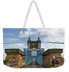Suspension Bridge Wide Angel Weekender Tote Bag