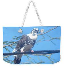 Suspicious Bird Weekender Tote Bag