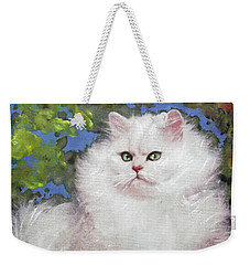 Suspicious Princess Weekender Tote Bag