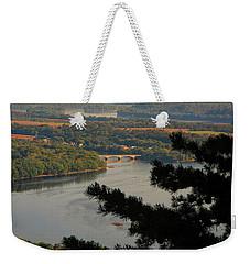 Susquehanna River Below Weekender Tote Bag