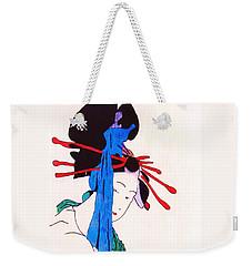 Sutekina Geisha Ni Weekender Tote Bag by Roberto Prusso