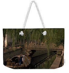 Weekender Tote Bag featuring the photograph Suzhou Canals by Travel Pics