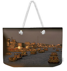 Weekender Tote Bag featuring the photograph Suzhou Grand Canal by Travel Pics