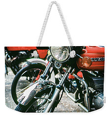 Weekender Tote Bag featuring the photograph Suzuki by Samuel M Purvis III