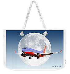 Sw Moon Weekender Tote Bag by Brian Wallace