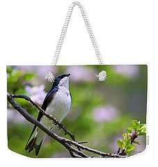 Swallow Song Weekender Tote Bag by Christina Rollo