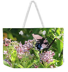 Female American Swallowtail Papilio Polyxenes Weekender Tote Bag