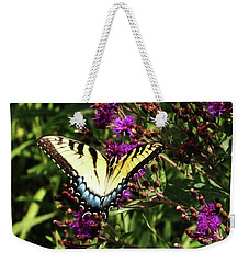 Swallowtail On Butterfly Weed Weekender Tote Bag