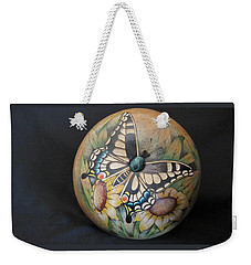 Swallowtail Butterfly #gn32 Weekender Tote Bag
