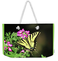 Swallowtail In The Garden 1 - Visions Of Spring Weekender Tote Bag by Brooks Garten Hauschild