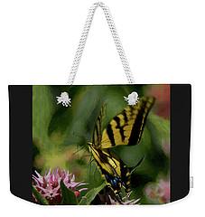 Swallowtail Liftoff Dp Weekender Tote Bag by Ernie Echols