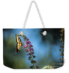 Swallowtail Lookout Weekender Tote Bag by Judy Wolinsky