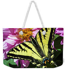 Weekender Tote Bag featuring the photograph Swallowtail by Mark Mille