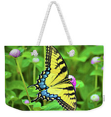 Swallowtail On Thistle Weekender Tote Bag
