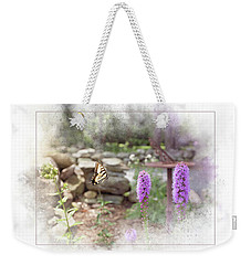 Weekender Tote Bag featuring the digital art Swallowtail by Sue Collura
