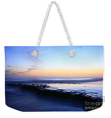 Weekender Tote Bag featuring the photograph Swamis Sunset by John F Tsumas
