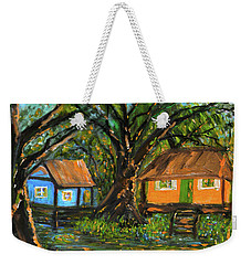 Swamp Cabins Weekender Tote Bag by Christy Usilton