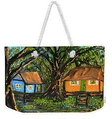 Swamp Cabins Weekender Tote Bag