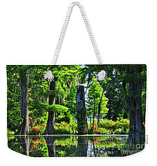 Swamp In Bloom Signed Weekender Tote Bag