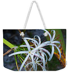Swamp Lilies Weekender Tote Bag by Kenneth Albin