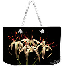 Swamp Lily Weekender Tote Bag by Meg Rousher