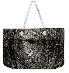 Weekender Tote Bag featuring the photograph Swamp Tunnel by Andy Crawford