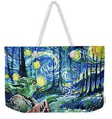 Swampy Night Weekender Tote Bag by Tom Carlton