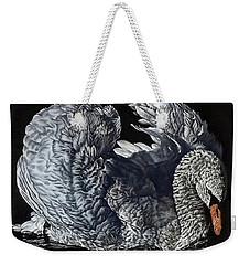 Swan #2 Weekender Tote Bag