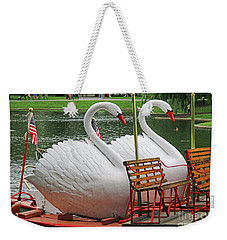 Swan Boat Boston Common Weekender Tote Bag